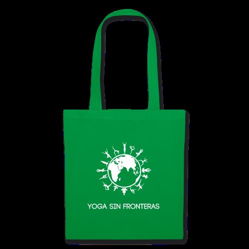 Bolsa Verde Yoga Sin Frotneras