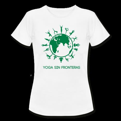Camiseta mujer Yoga Sin Fronteras