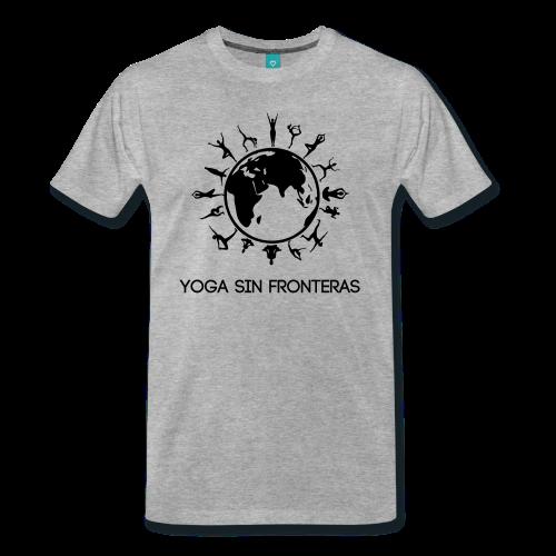 Camiseta hombre Yoga Sin Fronteras