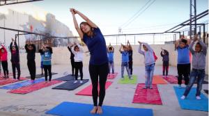 Yoga refugiados