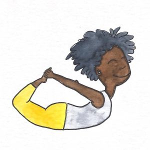 Cartas inclusivas de Yoga para niños de Yoga Sin Fronteras